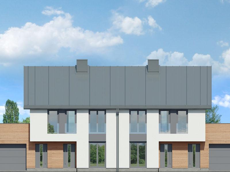 Front - Mieszkanie na zamkniętym osiedlu Łódź 59m2