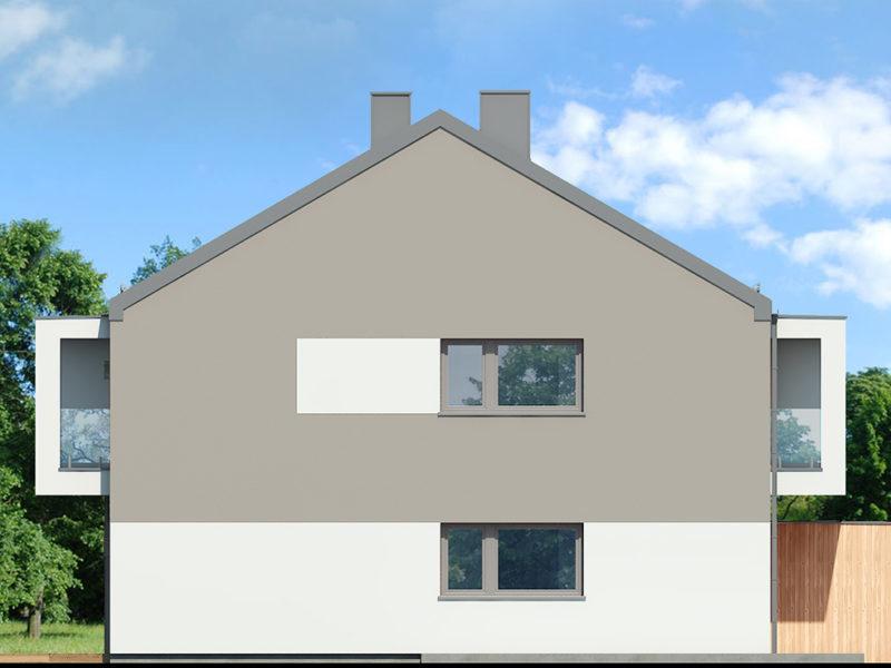 Bok 2 -Mieszkanie na zamkniętym osiedlu Łódź 62m2